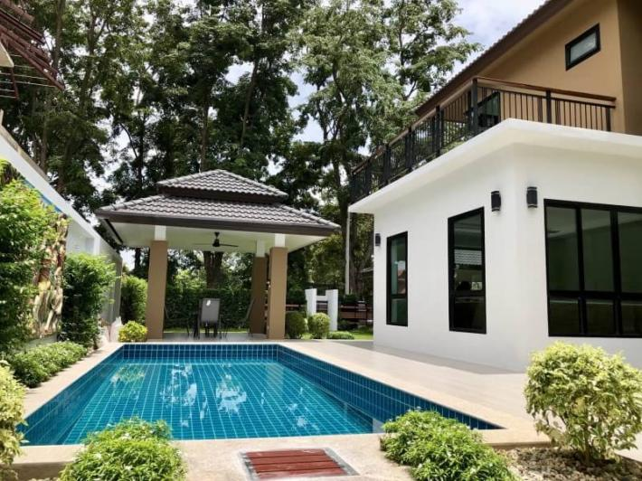 New House for Sale with Private Swimming pool in Hang Dong.