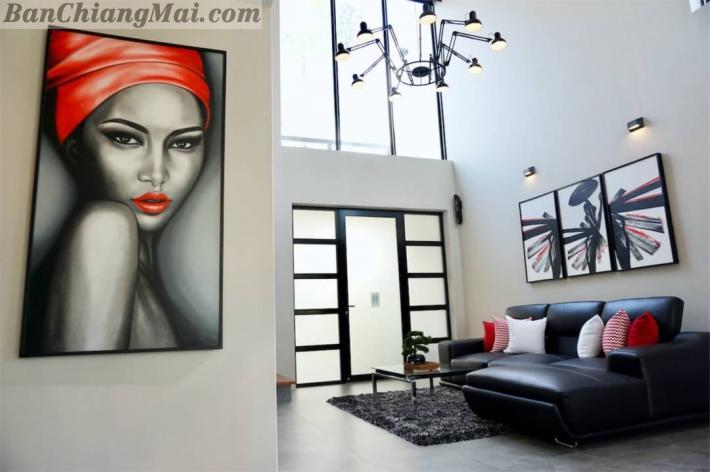 For Sale!! Stunning 3 bedrooms modern loft pool villas locate in Hang Dong, Chiang Mai.