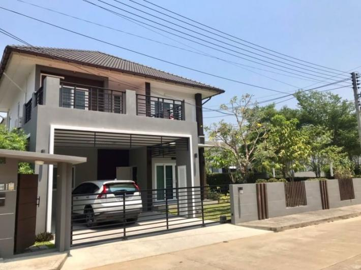 House for rent in a new Sansaran Housing Project, Baanwan, Hang Dong Road
