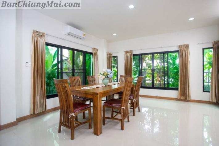 New House for rent [Hangdong, Chiangmai near Kad Farang] Close to Lanna International School, Panyaden International School, Chiang Mai Airport.