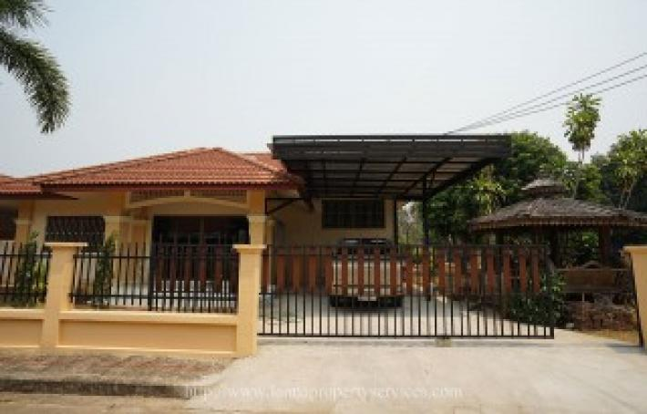 4 bedrooms partly furnished house for rent in community hangdong.
