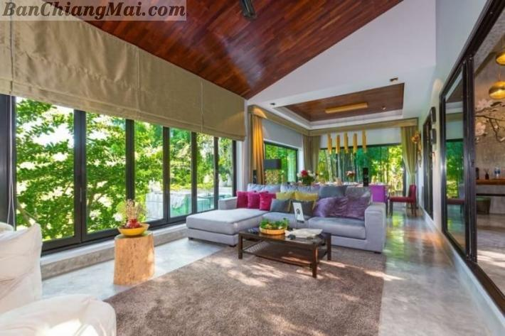 The luxuries Modern Tropical style Pool Villa for Sale.
