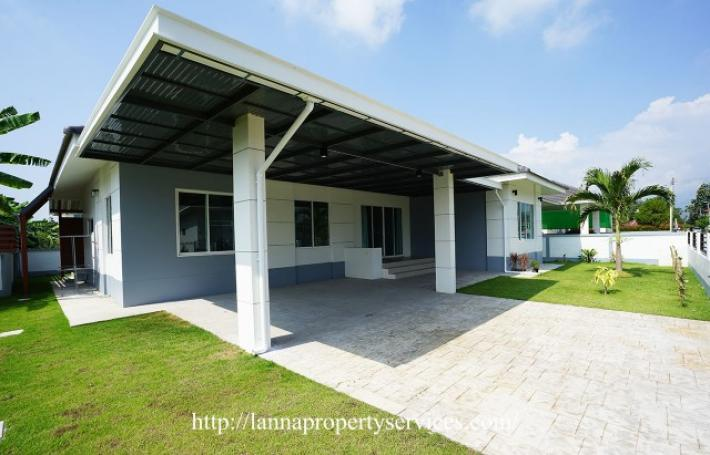 Brand New 3 Bedroom Property in Hang Dong Fully furnished in community near Kad Farang