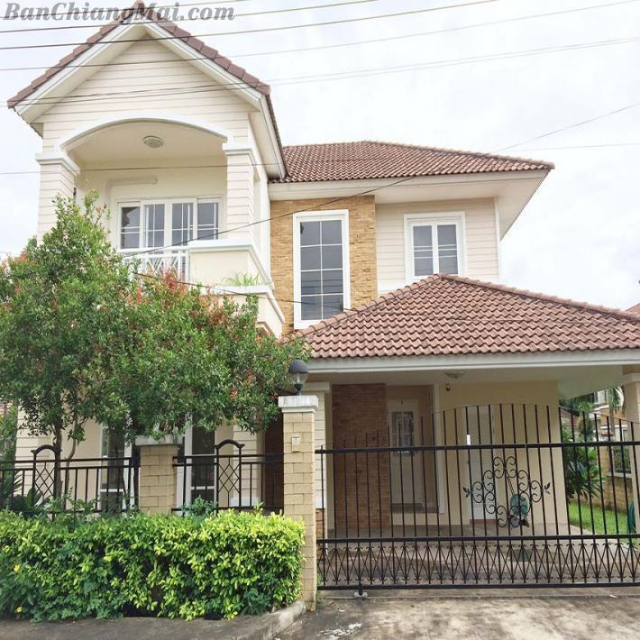 CHD0170 A house for sale 4 bedrooms and 3 toilets , 87sq.wah near Wiboontong Market